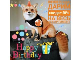 День рождения Foxykid