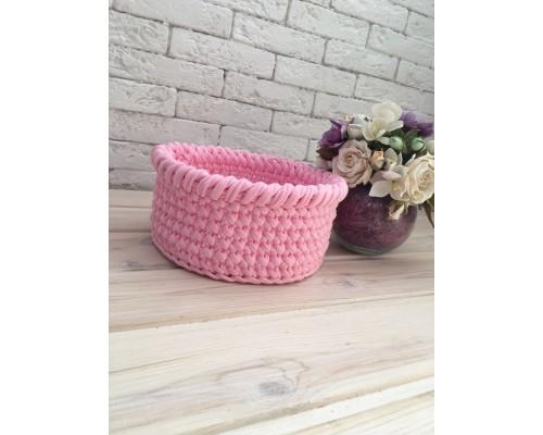 "Корзинка круглая ""Pink"""