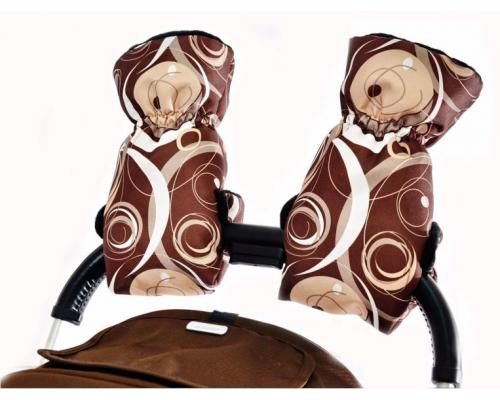 Варежки Шоколадный пломбир