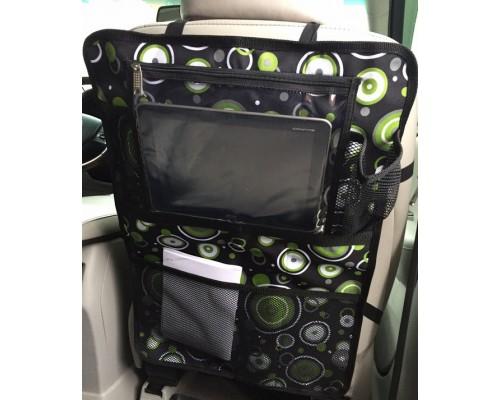 Органайзер для планшета Зелёные пузыри